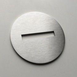 No entry pictogram – Diameter 3,94 inches ( 100 mm ) or 5,91 inches ( 150 mm )