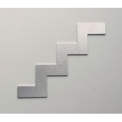 Pictogramme inox Escalier HT100 ou 150