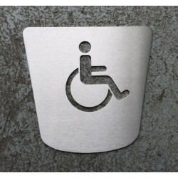 PRM's toilet pictogram – 6,69 x 6,30 inches ( 170 x 160 mm ) (DISCONTINUED ITEM )