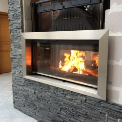 Type 3 design - Fireplace insert surround – A made-to-measure order