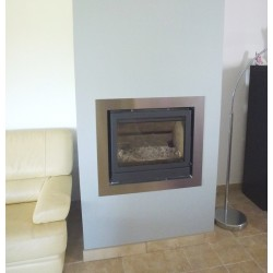 Type 1 design : Fireplace insert surround – A made-to-measure order