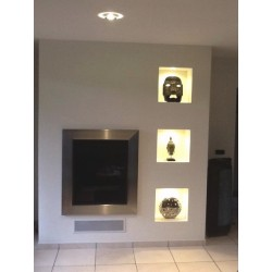 Type 4 design - Fireplace insert surround – A made-to-measure order