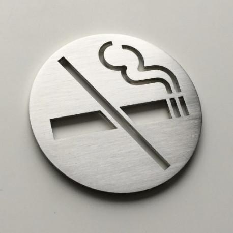 Pictogramme Ne Pas Fumer Diam62 ou 100 ou 150mm