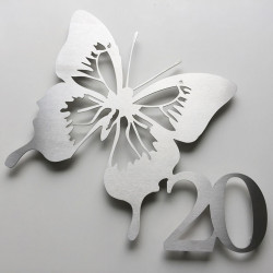 Butterfly Home number – 14,76X13,19 inches (375X335mm)