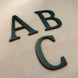 Design Lacier - Lettre inox avec peinture au four - Taille de 5 à 30cm