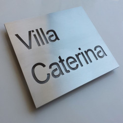 Personalized plate - 250x150mm or 300x200mm - Through cutout