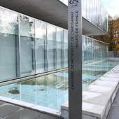 Totem pour la CMA de Lille . #cma #chambremetiers #design #deco #inox #totem #toteminox #lille #architecture #madeinfrance #metal #decoinox